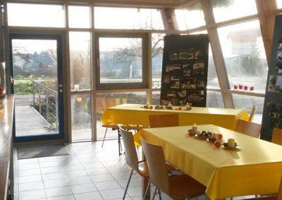 Gaststätte Eingangsbereich